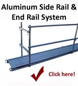 Alum. Side Rail/End Rail System