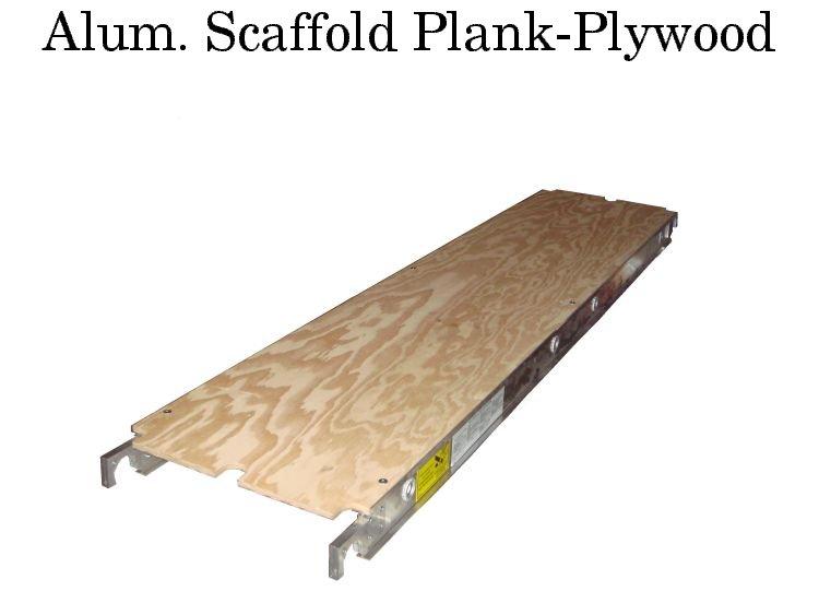 Alum. Scaf. Plank-plywood