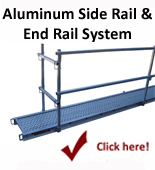 Alum. Side Rail/End Rail System